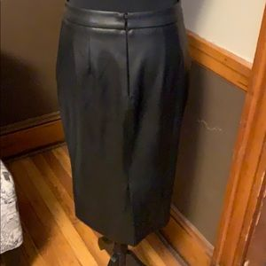 The Limited Skirts - The limited faux leather skirt